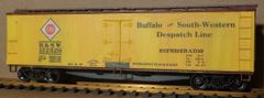ERIE RR- BUFFALO & SOUTHWESTERN DESPATCH WOOD REEFER CAR HO DECAL SET