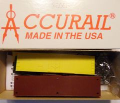 ACCURAIL 8500-HO Undecorated 40' Plug Door Steel Reefer-YELLOW