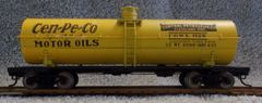 CEN-PE-CO(central petroleum co.) TANKER CAR SET . A BEAUTY FOR YOUR RAILS.