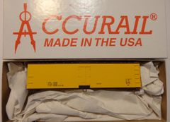 ACCURAIL 4895 40 FT WOOD REEFER- YELLOW, DATA