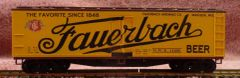 FAUERBACH BEER WOOD BOXCAR HO DECAL SET