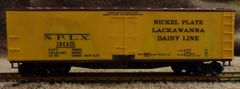NKP-LACKAWANNA REEFER CAR WOOD, HO DECAL SET