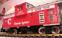 CHESSIE SAFETY YEAR CABOOSE G SCALE DECAL SET.