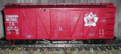 CANADIAN NATIONAL WOOD BOXCAR G-CAL DECAL SET.