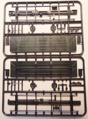 CENTRAL VALLEY GENERAI HO SCALE ROLLING STOCK FLOOR-CHASSIS KIT. MAKES 2 FLOORS.
