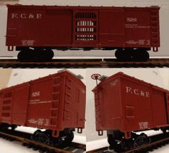 FLORIDA CENTRAL & PENINSULAR WOOD BOXCAR HO DECAL SET