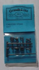 GRANDT LINE 5007 UNIVERSAL CABOOSE STOVE KIT HO SCALE