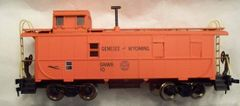 GNWR LONG STEEL CABOOSE HO DECAL SET