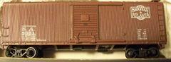 SAVANNAH AND ATLANTA 40 RF5T WOOD BOXCAR HO DECAL SET