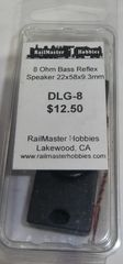 RAILMASTER HOBBIES DLG-8 BASS REFLUX SPEAKER