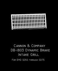 CANNON & CO #1803 Dynamic Brake Intake Grille