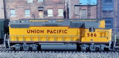 ATLAS TRAINMAN UNION PACIFIC #586 EMD GP38-2 NEW IN BOX WITH DCC AND SOUND OPTIONS