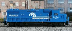 ATLAS TRAINMAN CONRAIL #8234 EMD GP38-2 NEW WITH DCC AND SOUND OPTIONS