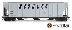 EXACT-RAIL HO EP-80178 SBGX/SCOULAR PS-2CD 4427 Covered Hopper