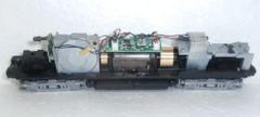 ATLAS HO PARTS GE U23B POWERED CHASSIS BLACK TANK SILVER TRUCKS DCC/SOUND READY