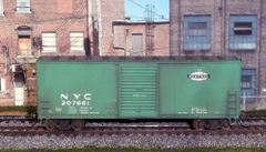 ATHEARN R-T-R #70142 NEW YORK CENTRAL #207661 40' WEATHERED MODERN BOXCAR