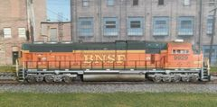 ATHEARN GENESIS BNSF SD70MAC WEATHERED w/ LOKSOUND & KEEP ALIVE