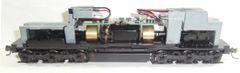 ATLAS MASTER EMD SD35 BLACK POWERED CHASSIS ATLAS #342 DC/DCC DECODER LED HEADLIGHTS