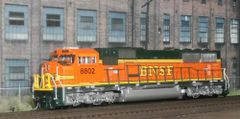 KATO HO #37-6451 BNSF SD70MAC DCC INSTALLED ASSEMBLED NEW CONDITION