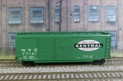 ATHEARN R-T-R #70189 NEW YORK CENTRAL #77141 40' DOUBLE DOOR BOXCAR
