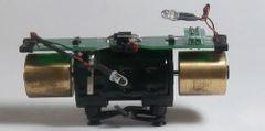 ATLAS HO MOTOR/FLYWHEELS 8 PIN DCC BOARD 2 POST WITH T-SPLINE BUSHINGS