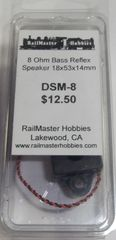 RAILMASTER HOBBIES DSM-8 BASS REFLUX SPEAKER