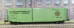 KADEE HO #6361 DETROIT TOLEDO IRONTON #18055 50' PS-1 CUSHION UNDERFRAME BOXCAR