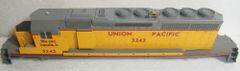 KATO HO UNION PACIFIC #3242 EMD SD40-2 COMPLETE BODY SHELL WITH HANDRAILS