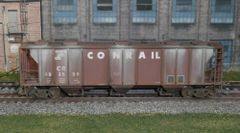 ATHEARN R-T-R #93715 CONRAIL #883559 PS 2893 WEATHERED COVERED HOPPER