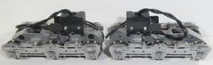 KATO HO EMD SD40/SD45 SILVER FLEXI-COIL HIGH CYLINDER POWER TRUCKS NEW