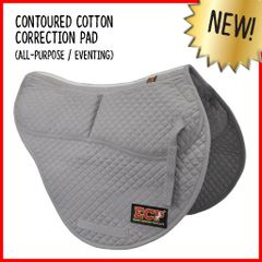 ECP contoured correction pad