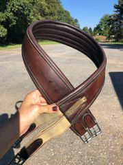 "51"" leather show girth"