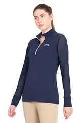 Equine Couture Ladies Erna EquiCool Long Sleeve Show Shirt