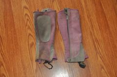 Perri's youth large half chaps