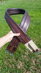 "56"" leather girth"