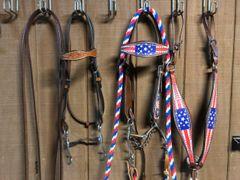 Western bridle sets