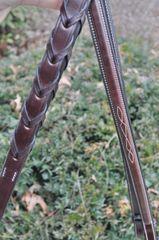 Nunn Finer fancy laced reins