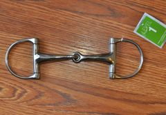 Metalab D ring snaffle