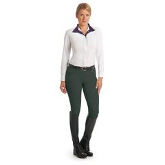 Ovation® Aqua-X™ Silicone Knee Patch Breeches - Ladies