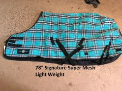 "Used 78"" Signature Super mesh light weight"