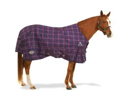 Centaur 1200D plaid turnout, 150G blanket