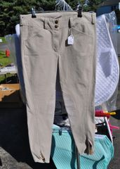 Ladies 28R Euro seat breeches