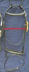 WINDECK PLAIN RAISED PADDED EVENT/DRESSAGE BRIDLE