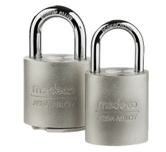 Medeco Protector II Stainless Steel Padlock - Extreme security in harsh weather.