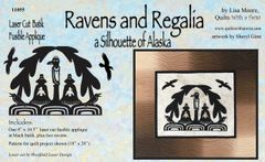 Ravens and Regalia Lasercut Kit