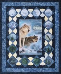 Many Moons Wolf Pattern