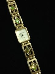 Quartz LeBaron Watch w/ Mother of Pearl