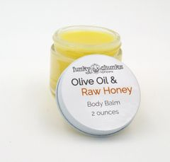 Olive Oil and Raw Honey Body Balm