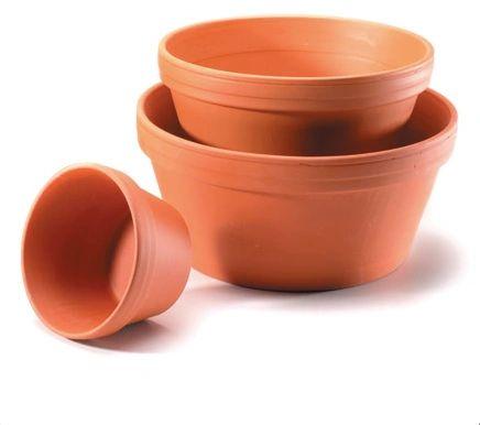Clay Half Pots