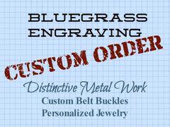 Custom order for Javier B.